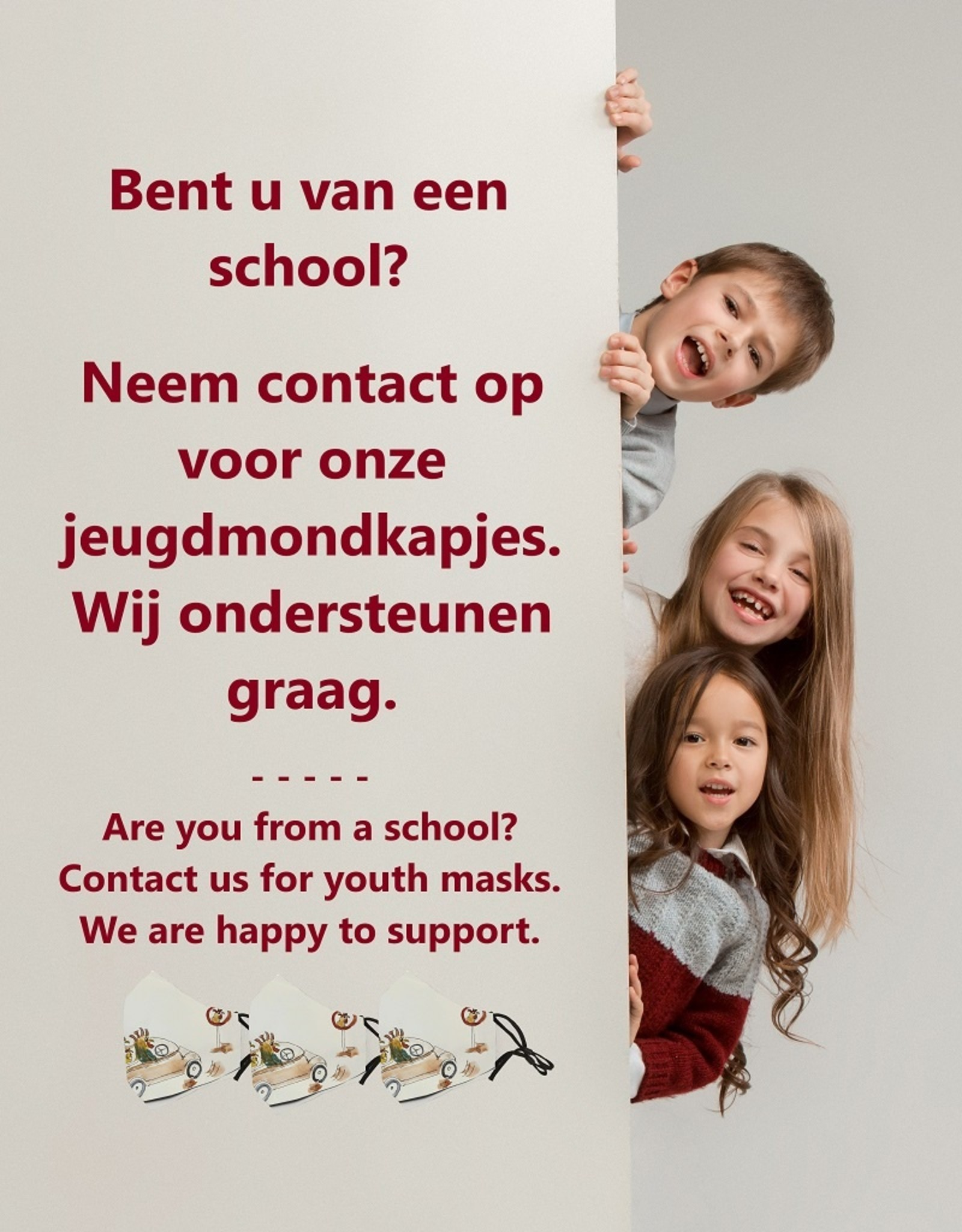 Maskie Youth masks for schools