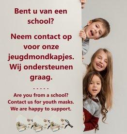 Maskie Masques de jeunesse pour les écoles