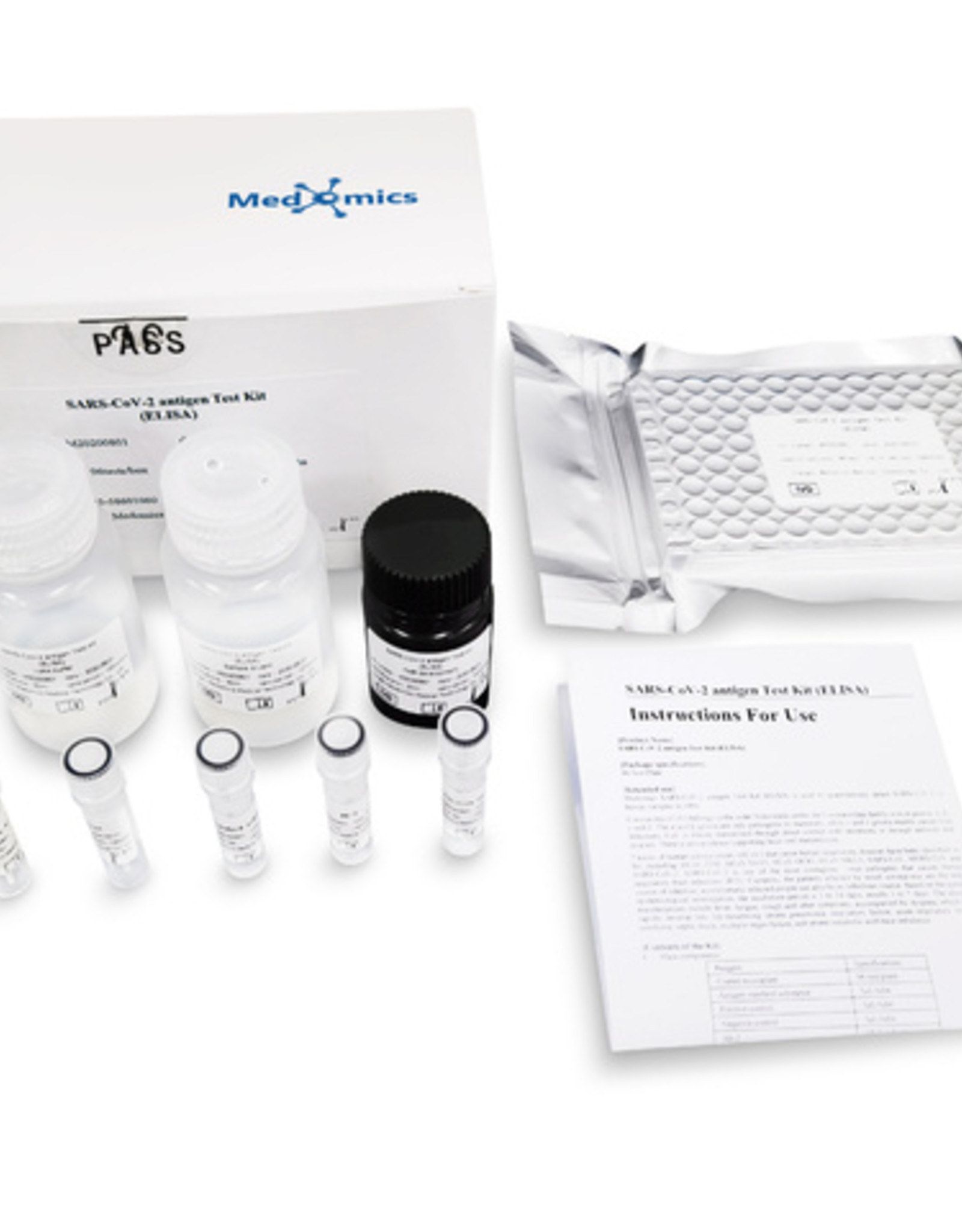 Medomics Kit de test d'anticorps neutralisants SARS-CoV-2 (ELISA) - 20 tests