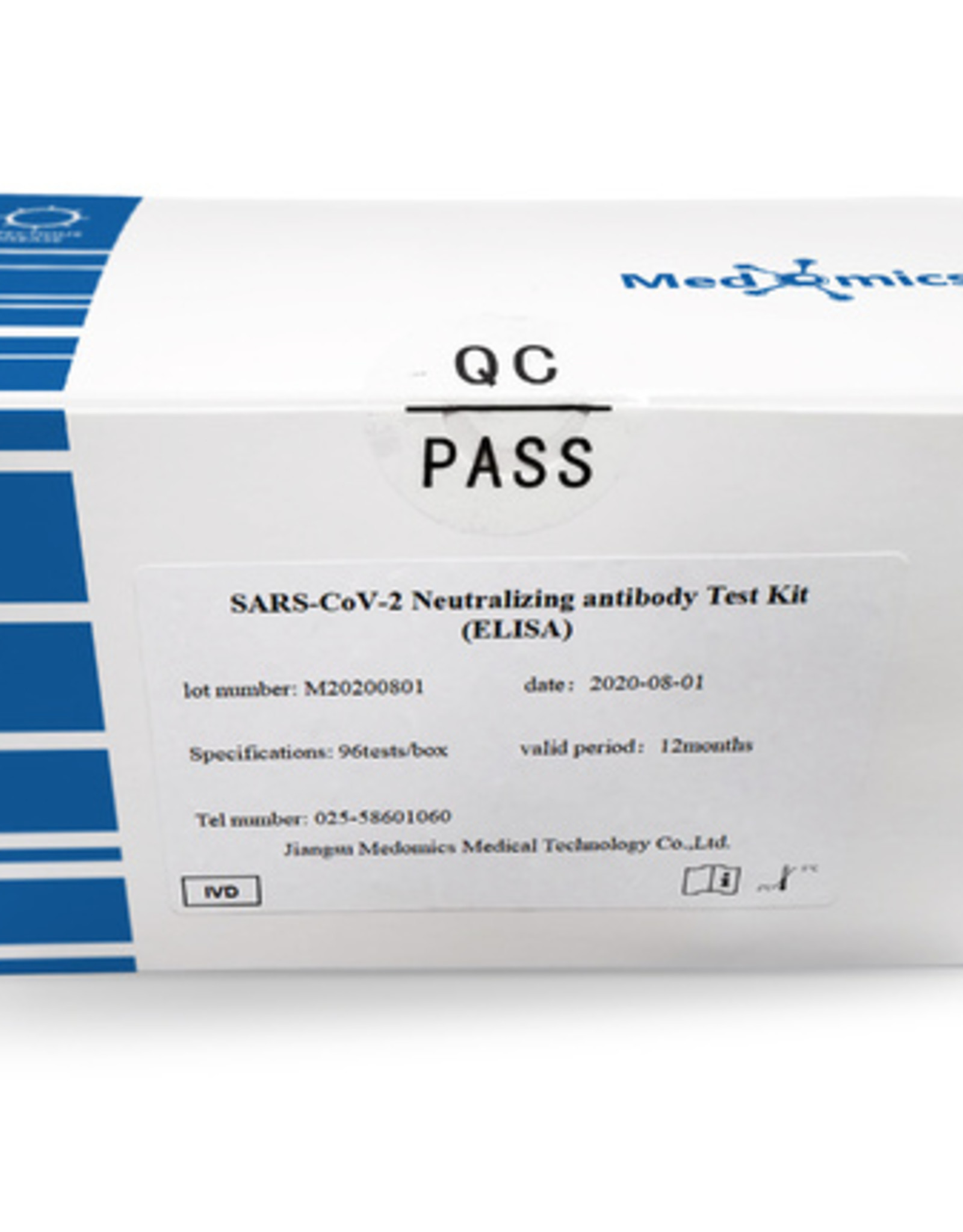 SARS-CoV-2 Antigen Test Kit (ELISA) - 96 tests