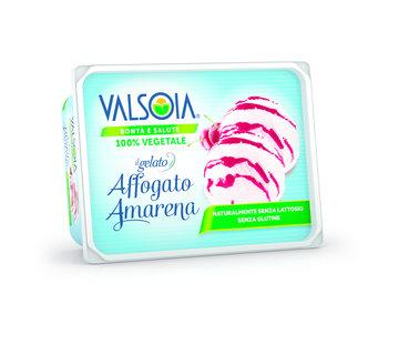Valsoia Glace crème et cerise aigre (6 boîtes)