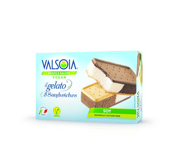 Valsoia Multipack 8 glace sandwiches