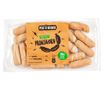 Peas of Heaven Vegan cocktail sausages (6 x 250g)