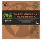 Pizza trois fromages végétaliens Margherita (10x)