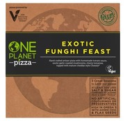 One Planet Pizza Pizza Exotisch Funghi-feest (10x)