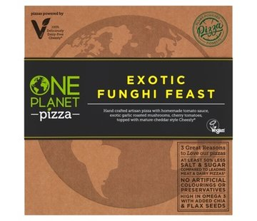One Planet Pizza Pizza Exotic Funghi Feast (10x)