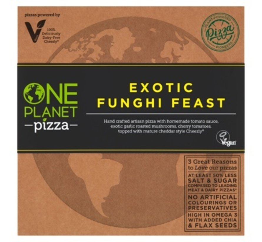 Pizza Exotisch Funghi-feest (10x)