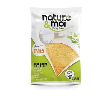 Nature & Moi Grated cheese - Cheddar flavour (11 x 200g)