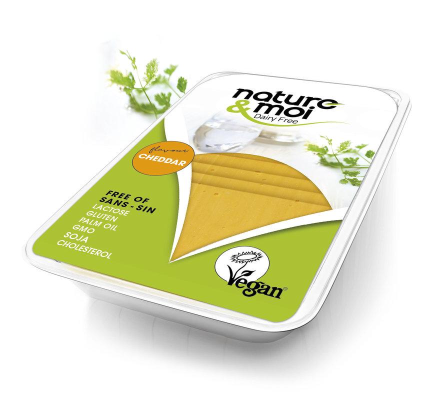 Vegan cheese slices- Cheddar (11 x 200g)