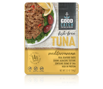 GoodCatch Fish-free tuna, Méditerranéen (20 x 94 g)