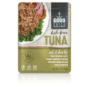 GoodCatch Fish-free tuna, Huile et herbes (20 x 94 g)