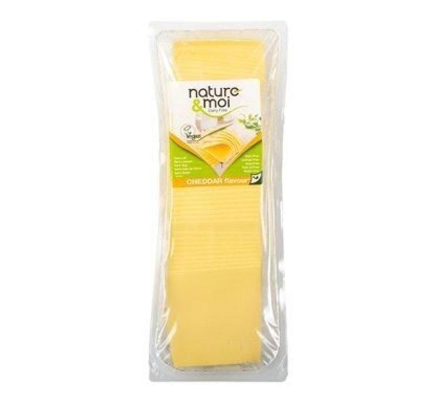 Vegan cheese slices - Cheddar Big package (6 x 1kg)