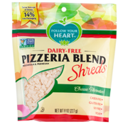 Follow your Heart Pizzeria blend shreds (8 x 227g)