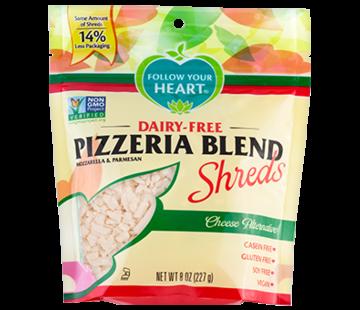 Follow your Heart Pizzeria blend shreds (8 x 227g)