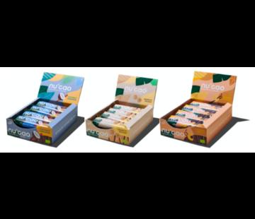 nucao mixbox 3 saveurs (36 bars)