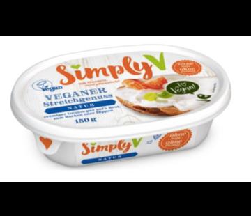 Simply-V almondspread - crème fraiche (6 x 150g)