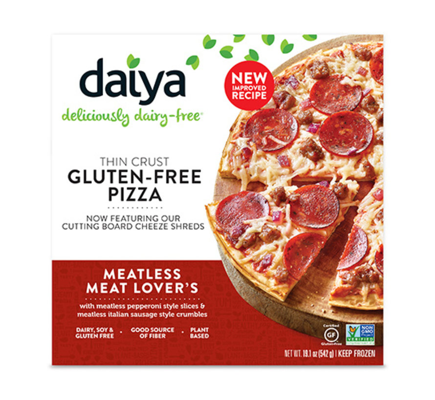 Meatless Meat Lover's Pizza (8x)