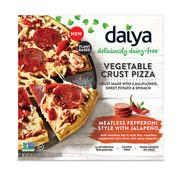 Daiya Croûte de légumes - Pepperoni au Jalapeno Pizza (8x)