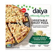 Daiya Vegetable Crust - Italiaanse Kruiden Pizza (8x)