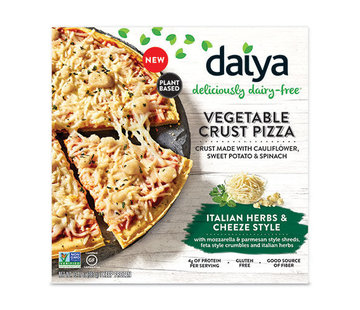 Daiya Croûte de légumes - Pizza aux herbes italiennes (8x)