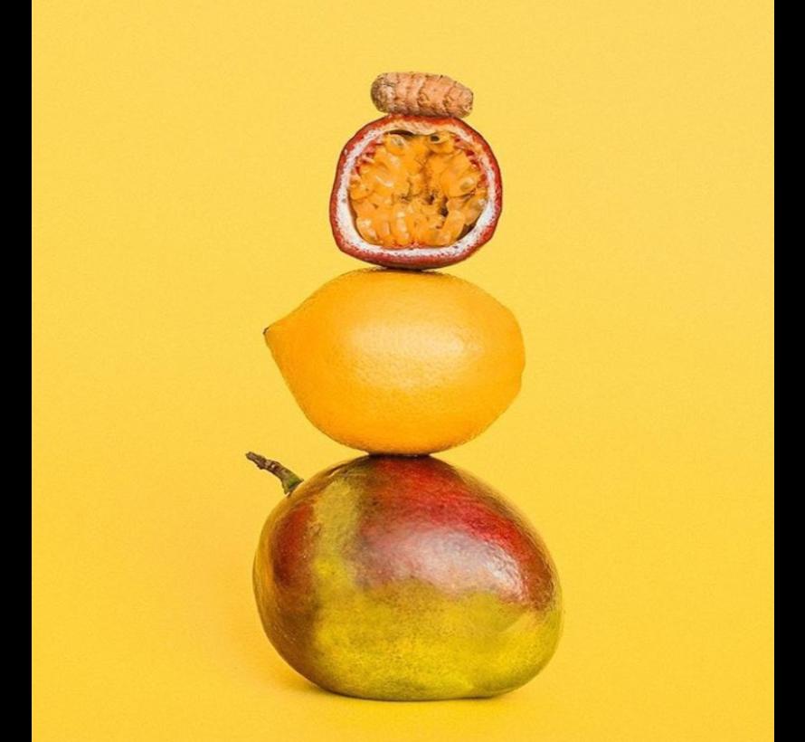 smoothie mangue, fruit de la passion, citron, curcuma (10 x 120g)