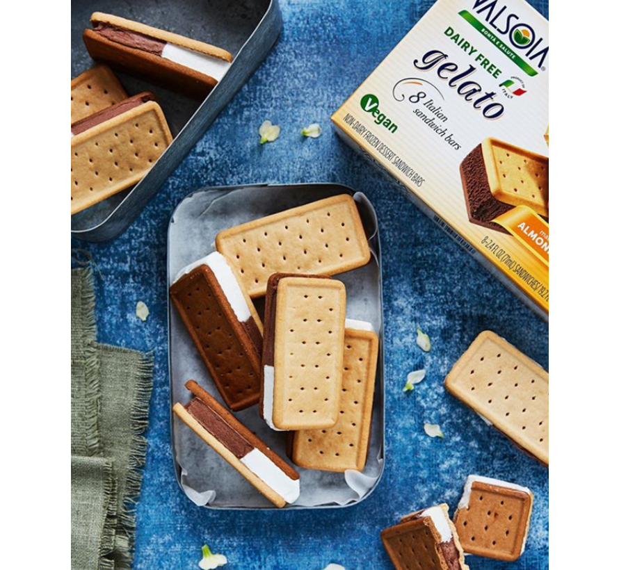 Multipack 8 ice cream sandwiches