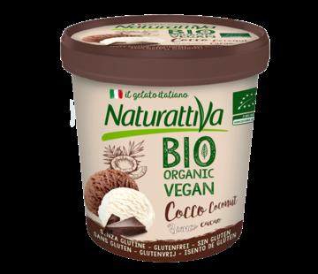 Naturattiva Naturattiva Coconut Tub Plain & Cacao, Organic (6 x 400g)