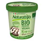 Naturattiva Naturattiva Rice Tub Plain & Cacao Organic (6 x 400g)