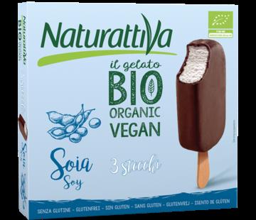 Naturattiva Naturattiva Soja-based 3 sticks Organic (6 x 250g)