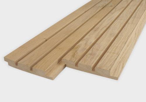 Dänisches Dreifach-Block Profilholz Eiche