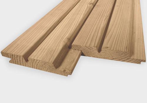 Profilholz Doppelt Rhombus Eiche