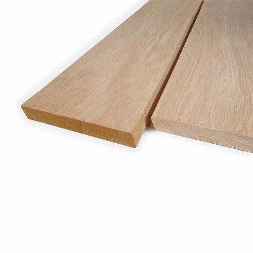 Rhombusleisten (Rhombus Profil) Eiche - 28x143 mm - Gehobelt - Eichenholz rustikal AD - für den Außenbereich
