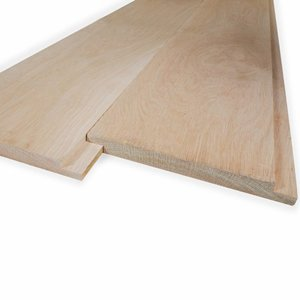 Profilholz Überlappung Basic Eiche - 28x190 mm - Gehobelt
