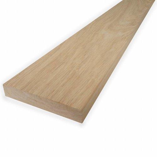 Eichenbretter künstlich getrocknet (KD) - 21x143 mm - Gehobelt - Eichenholz rustikal KD - für Innen & Außen (geschutzt)