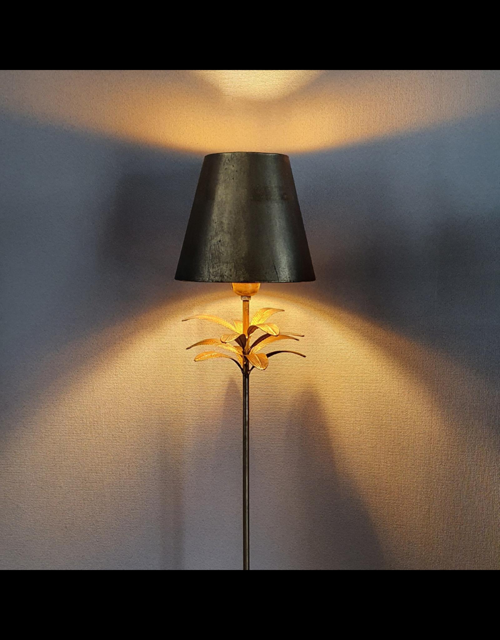 PTMD PTMD Palm vloerlamp old gold