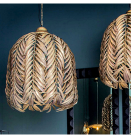 PTMD PTMD XXL Palm gold hanglamp