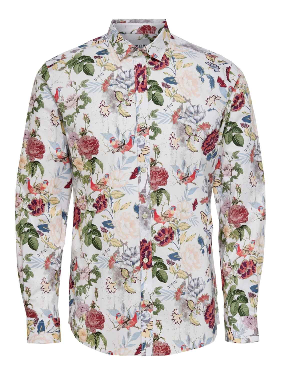 Only & Sons Onsstefano Stretch Floral Slim Shirt