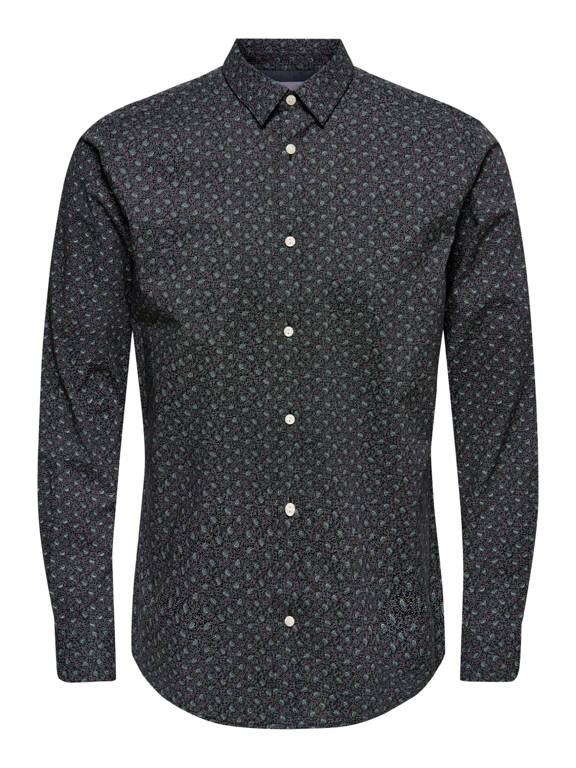 Only & Sons Onshogan Printed Stretch Shirt