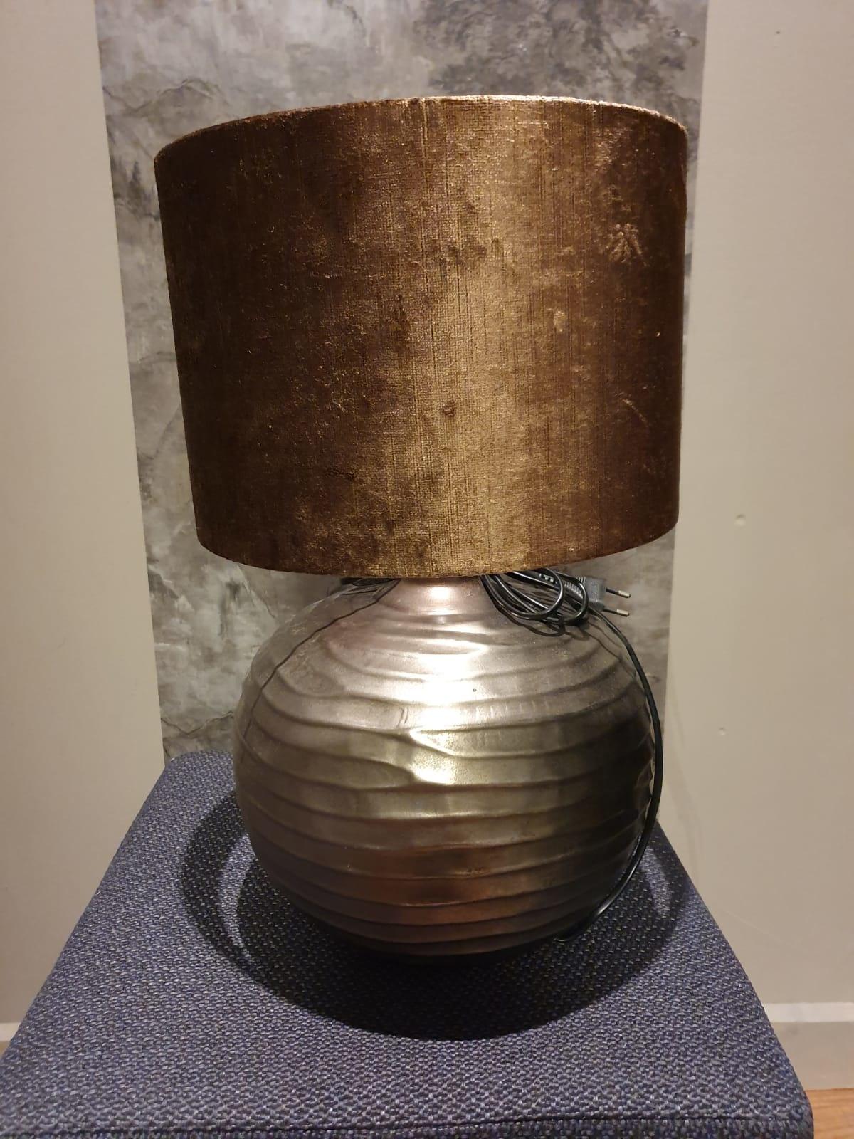 Lampenvoet 28x35cm Ekodi Donker Nikkel
