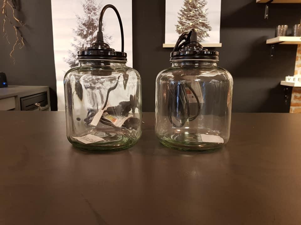 Hanglamp Sherryn Glas Pot TT