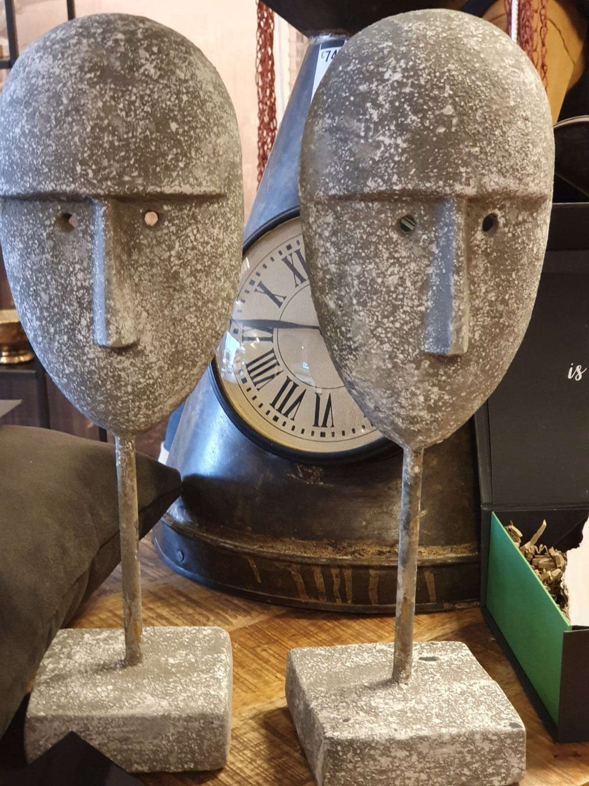 Masker Dilek L Grijs 35cm