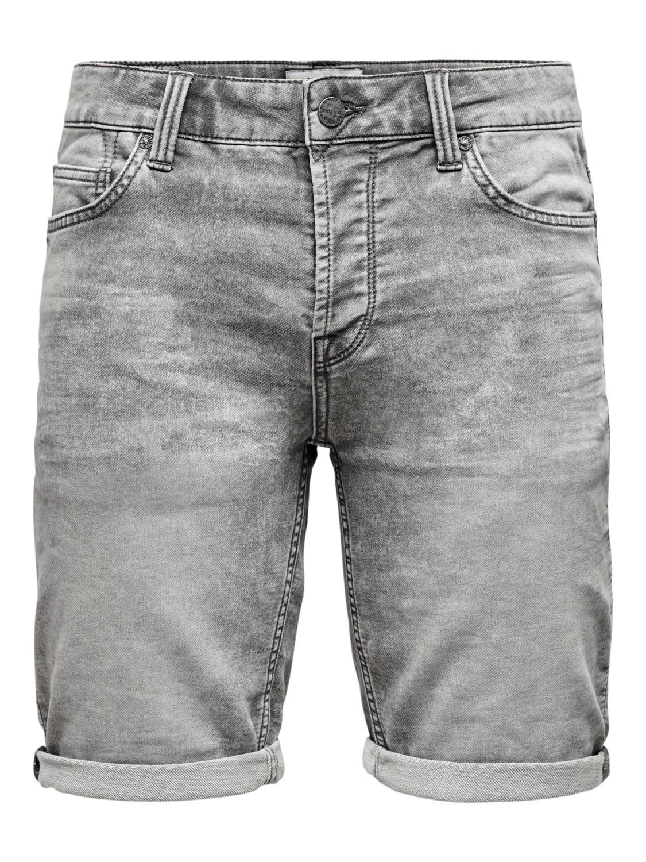 Only & Sons Onsply REG Grey Short
