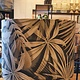 Kap Cilinder 30-30-21cm Velours Palm