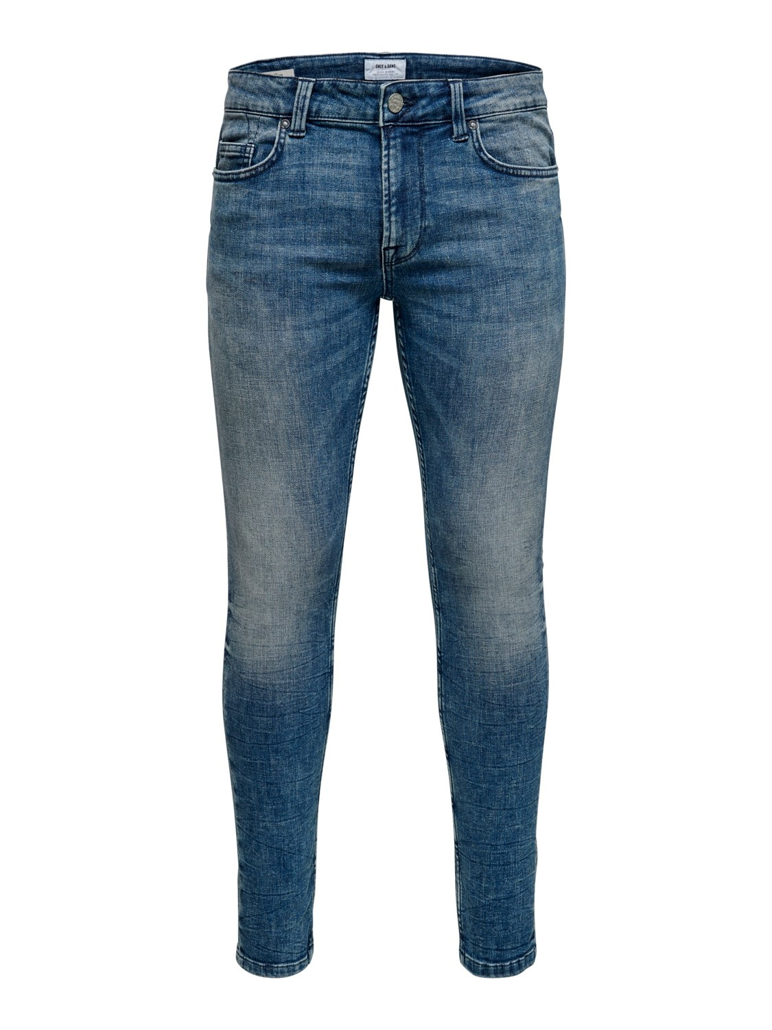 Only & Sons Onswarp Blue Washed Skinny