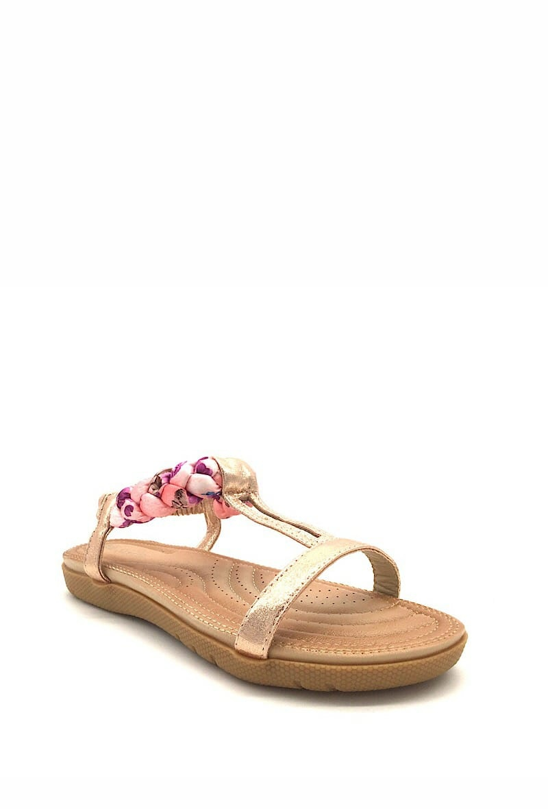 ML Shoes Sandaal champagne