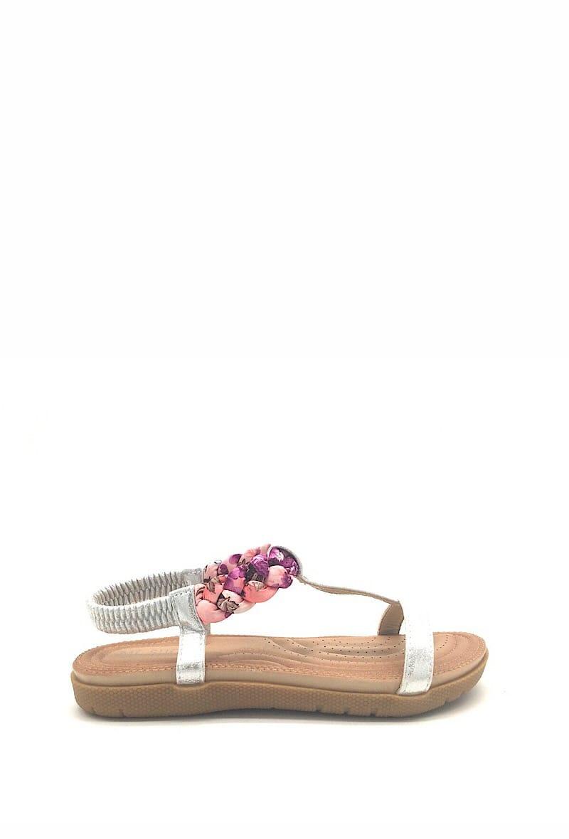 Sandaal zilver