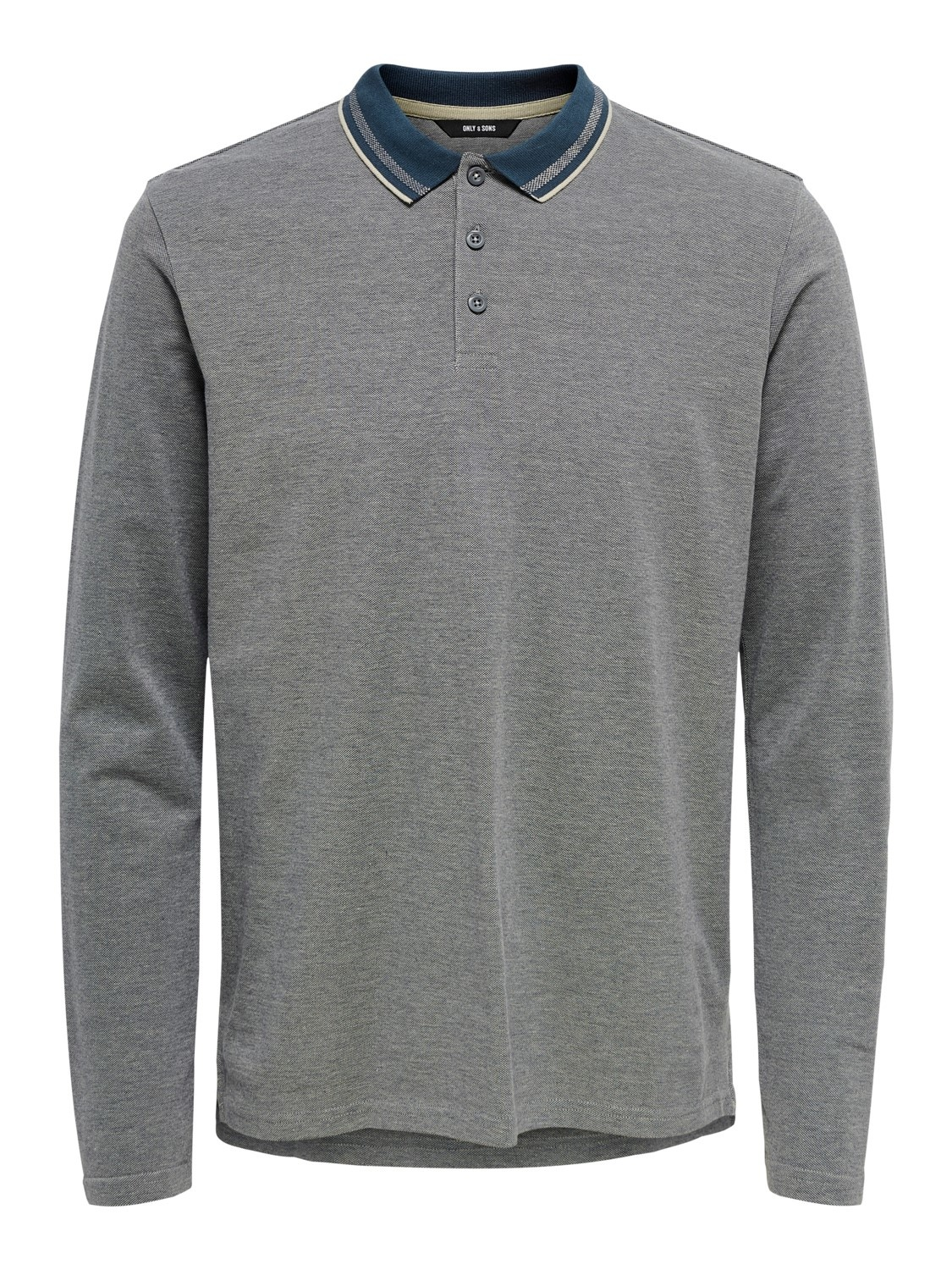 Only & Sons Onsdrake Slim Polo Lange Mouw