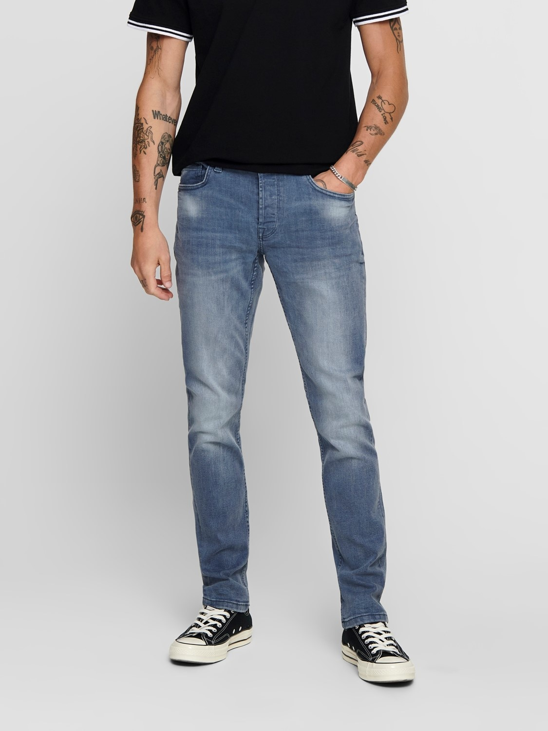 Only & Sons Only & Sons Jeans Loom Blue Grey