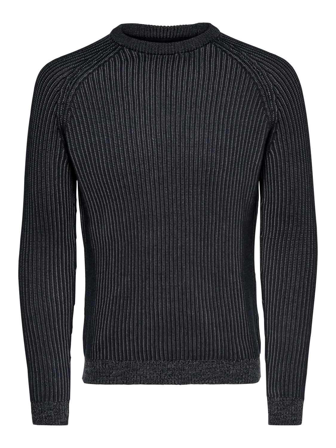 Only & Sons Onsrato 5 Struc Raglan Crew Knit Noos