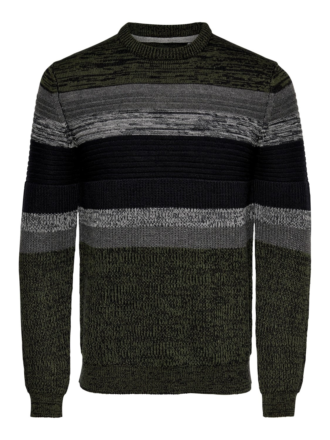 Only & Sons Onslazlo Striped Knit Noos